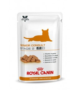Royal Canin Senior Consult Stage 2 cat food - Wet food pouches