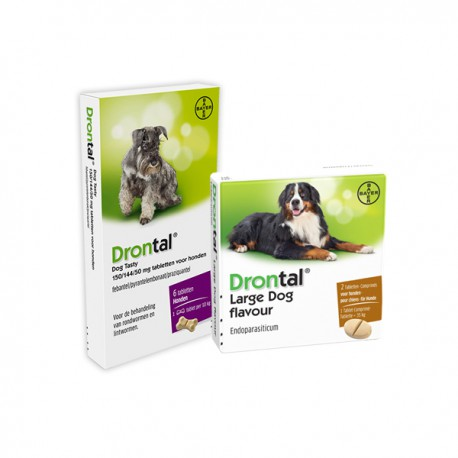 Drontal - Chewable dog dewormer