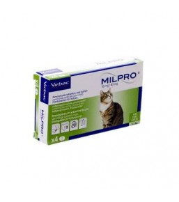 Milpro cat dewormer
