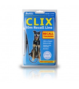 Clix - Recall line for dogs, 5 or 10 metres