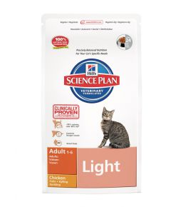 Science Plan Feline Adult Light Chicken - Kibbles