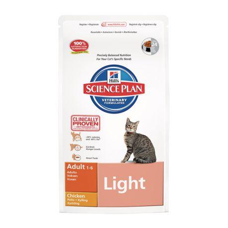 Science Plan Feline Adult Light Chicken - Kibbles