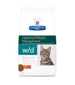 Hill's Prescription Diet w/d Feline - Kibbles