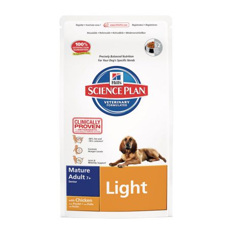 Hill's Science Plan Canine Mature Adult 7+ Light - Dog kibbles