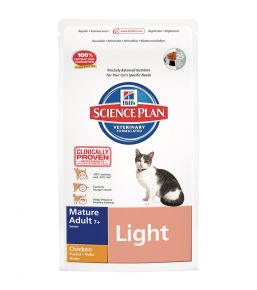 Hill's Science Plan Feline Mature Adult 7+ Light Chicken - Kibbles