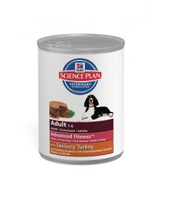 Hill's Science Plan Canine Adult Savoury Turkey - Cans