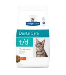Hill's Prescription Diet t/d Feline - Kibbles