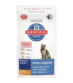 Science Plan Feline Mature Adult 7+ Active Longevity Chicken - Kibbles