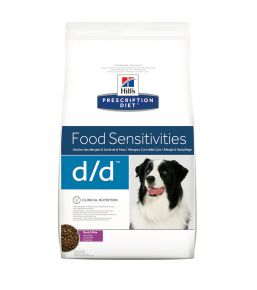 Hill's Prescription Diet D/D Canine Duck and Rice - Kibbles