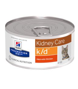Hill's Prescription Diet k/d Feline minced chicken - canned food