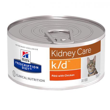 Hill's Prescription Diet k/d Feline minced chicken - canned food