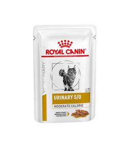 Royal Canin Urinary S/O Moderate Calorie cat food - Wet food pouches