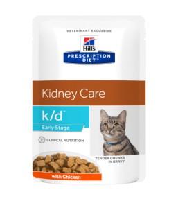 Hill's Prescription Diet k/d Feline Early Stage – Cat food pouches