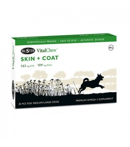VitalChew SKIN + COAT - Skin and coat support for dogs