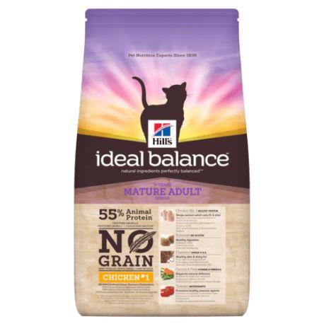 Hill's Ideal Balance Feline Mature Adult No Grain - Cat kibbles
