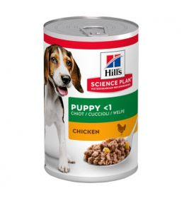 Science Plan Puppy Puppy Food with Chicken - Canned puppy food