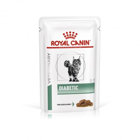 Royal Canin Diabetic cat food - Wet food pouches