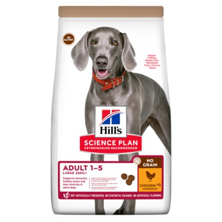 Hill's Science Plan Canine Adult Large Breed No Grain kibbles