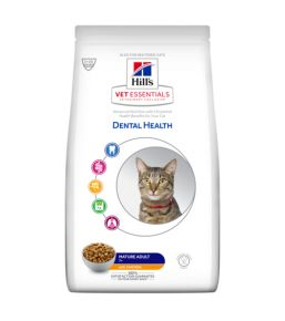 Hill's VetEssentials Dental Health Feline Mature Adult - Kibbles