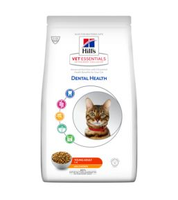 Hill's VetEssentials Dental Health Feline Young Adult Cat - Kibbles