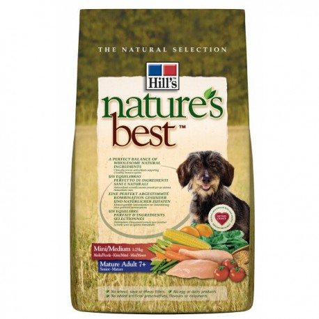 Nature's Best Canine Mature 7+ Adult Mini/Medium