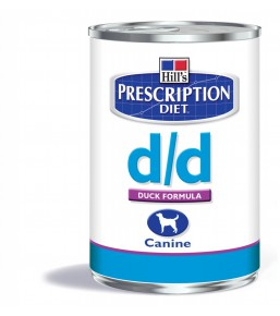 Hill's Prescription Diet D/D Canine Duck - canned food